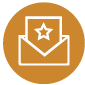 respected envelope icon